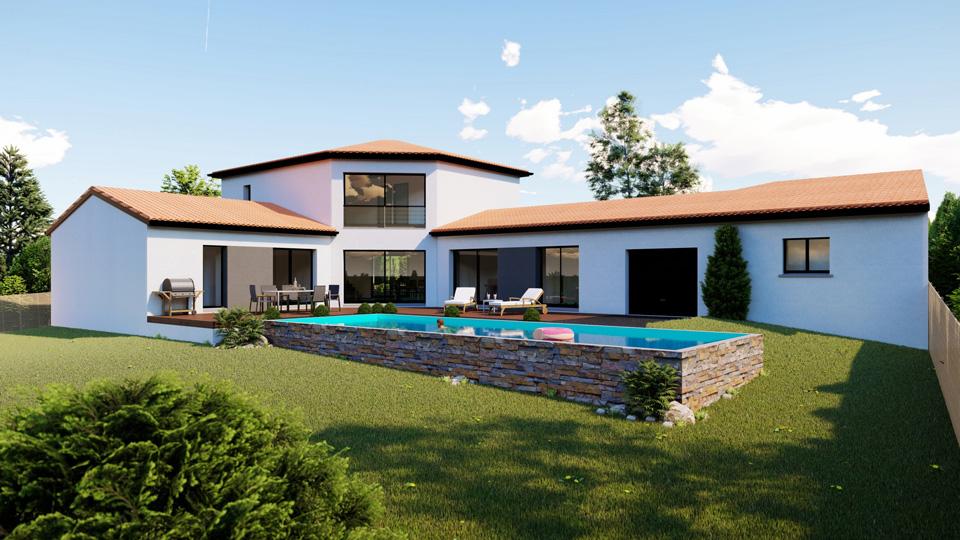 construction villa puy de dôme