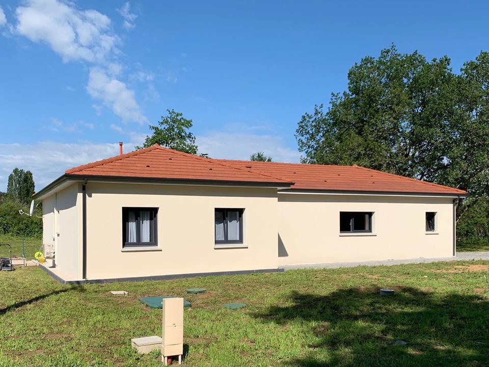 construction villa individuelle Domérat